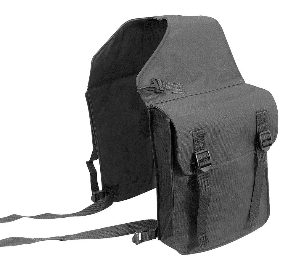 Doppel Packtasche Satteltasche Waldhausen REFLEX schwarz